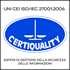 Certificato UNI CEI ISO/IEC 27001:2006